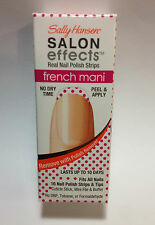 SALLY HANSEN SALON EFFECTS REAL NAIL POLISH STRIPS #006 Polka Party FRENCH MANI