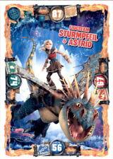 32 - Flugteam Sturmpfeil & Astrid - Drachen Karte - Dragons 3 - Die geheime Welt