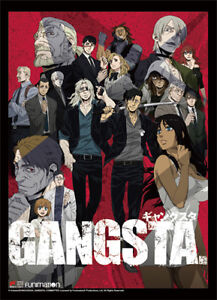 **Legit Poster** Gangsta Nicolas Worick Alex Authentic Anime Wallscroll #86632