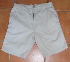 Men's Denim & Co Beige Chino Shorts 32W