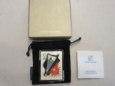 ESTEE LAUDER ZODIAC SCORPIO BY ERTE ART DECO LUCIDITY POWDER COMPACT NEW IN BOX