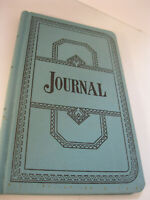 Account Book Journal Ledger Prop Boorum & Pease Pendaflex 12 1/8 x 7 1/2 Vintage