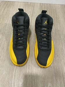 Jordan 12 Retro Black University Gold 130690-070