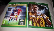NBA LIVE 14.NEW AND FIFA 16.XBOX ONE.