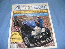 COLLECTIBLE AUTOMOBILE  1997 w/ 1967-69 DODGE DART 1941-48 NASH 600 Jay Leno /a2