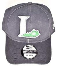 LEXINGTON LEGENDS New Era Core Fit Gray Hat/Cap 49Forty (Size M/Medium) >NEW<