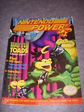 NINTENDO POWER Magazine #25 JUNE 1991, BATTLE TOADS, SUPER SPY HUNTER POSTER!