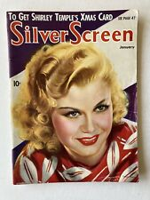 RARE JAN 1936 SILVER SCREEN MAGAZINE GINGER ROGERS MARX BROTHERS AD