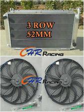 Pour 3ROW Radiateur en Aluminium Nissan GQ PATROL Y60 4.2 L Essence TB42S TB42E + fans