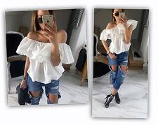 New Fashion Women Sexy Off Shoulder Casual Blouse Summer Tops Beach T Shirt M