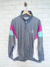 SERGIO TACCHINI Vtg Shell Suit Jacket Top Festival Windbreaker Large #D5481