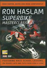 RON HASLAM SUPERBIKE MASTERCLASS DVD - FEATURING RACE SCHOOL LESSONS