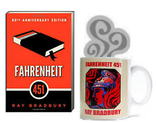 Fahrenheit 451 by Ray Bradbury (2012, Paperback) Book & Mug Set