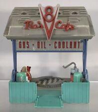 Disney Pixar World Cars Mini Adventures Flo's V8 Cafe Playset Radiator Springs