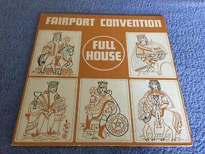 FAIRPORT CONVENTION FULL HOUSE 12'' VINYL 1970 ILPS 9130