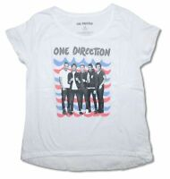 One Direction Waves Band Image Girl's Juniors T Shirt Boy Band Pop Music