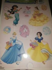 Disney Princess Easter Window Clings Cinderella Snow White Belle Jasmin