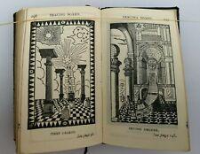 1924 Masonic Craft Emulation Ritual Freemason Book Symbolism Perfect Ceremonies