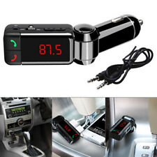 Wireless Bluetooth Car Kit FM Transmitter MP3 USB LCD Handsfree For Mobiles NEW