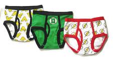 PACK OF 3  Boys Brief size 4 (3y-5y) Justice League Green Lantern Flash #4-1