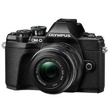 Olympus OM-D E-M10 Mark III Mirrorless Camera With 14-42mm R Lens Black