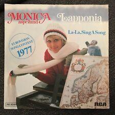 7'Monika Aspelund  >Lapponia/La-La,..< EUROVISION 1977 FINLAND