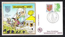 BLOC   CNEP   NUM.   8  Bourgogne   1987   sur enveloppe