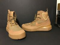 Nike Air Wild Men's Size 9 Rubber Boot 916819-200 Golden Wheat Flax 3M Leather