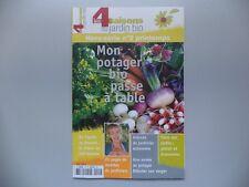 Revue Les 4 Saisons du Jardin BIO Special Potager -  Neuf