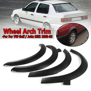 Fender Flares Wheel Arch Molding Trim Spoiler For Volkswagen VW Golf Jetta MK3