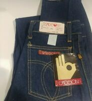 Vintage SASSON BLUE JEANS new with tag DEADSTOCK made in USA 100% cotton