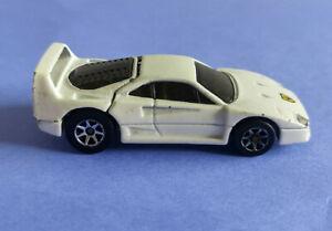 Hot Wheels Vintage 1988 Ferrari F40 White Lifting Trunk/Hatch Malaysia