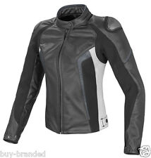Women sports Motorbike Ladies Leather Jacket Motorcycle Racing Jacket XS-4XL