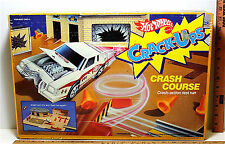 Vintage 1985 Hot Wheels Crackups Crash Course Mattel #9637 Repair Cntr Test Car