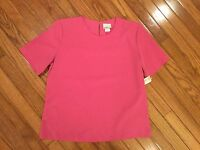 NWT Modern Essentials Women's Blouse Top  Size S (6 - 8) New