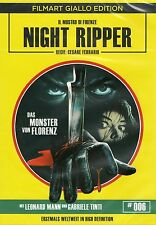 Night Ripper Blu Ray & DVD Film Art Cesare Ferrario Giallo Gabriele Tinti