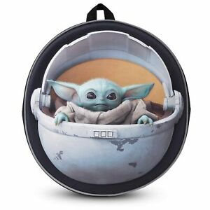 Disney Official Star Wars The Child Backpack Baby Yoda Mandalorian