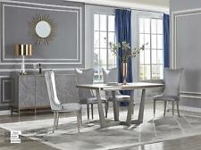 Luxus Esszimmer Set Garnitur Stuhl 6x Lehn Stühle Sitz Polster Gruppe Komplett