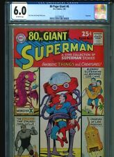 Eighty 80 Page Giant #6 CGC 6.0 (1965) Superman Curt Swan George Klein Cover
