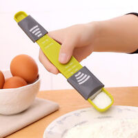 Home Kitchen Accessory Plastic+ABS Eight Stalls Scale Measuring Spoon Baking Kit