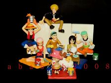 Bandai one Piece figure gashapon (full set of 7 figures with stickers)