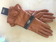 Womens Ugg Gloves Touch Screen Compatible (Size: S)