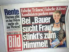 Bildzeitung vom 29.10.2011 zur Geburt * Bauer sucht Frau * Inka Bause