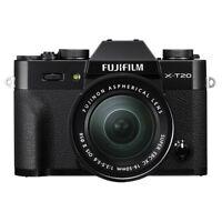 Fujifilm X-T20 Mirrorless Digital Camera Black & 16-50mm f/3.5-5.6 OIS II Lens