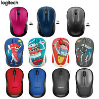 Logitech Wireless Mouse M325 M220 M238-V3 USB Unifying 1000DPI schwarz Rot Blau