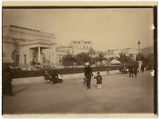 PHOTO ANCIENNE - CANNES ALPES MARITIMES PROMENADE 1924 -WALKING-Vintage Snapshot