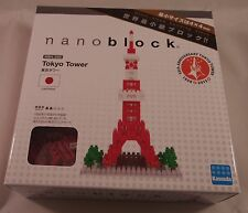Kawada Nanoblock Tokyo Tower New - japan building toy block Nbh-053 worldwide