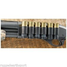 Universal Side Saddle 12 gauge Shotgun Shell Shotshell Carrier NCStar A12SH4/6