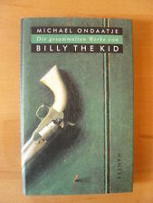 "Michael Ondaatje    ""Billy the Kid""    EA"