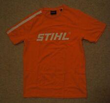 Stihl T-Shirt Logo Herren Orange Shirt Kurzarm S